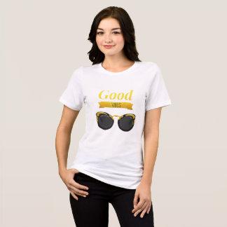 Camiseta Bons vidros de sol das impressões