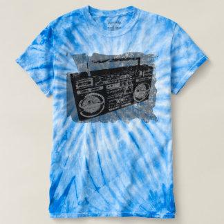 Camiseta Boombox afligido retro legal