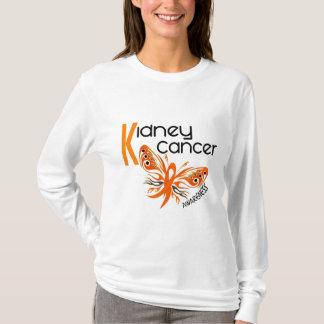 Camiseta BORBOLETA 3 do câncer de rim