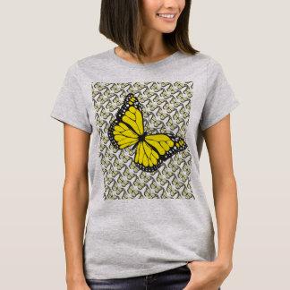 Camiseta Borboleta amarela