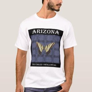 Camiseta Borboleta atada de Swallowtail da arizona dois