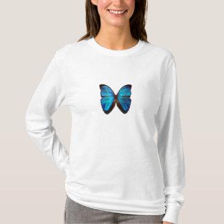 Camiseta Borboleta azul de Morpho