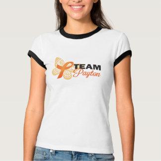 Camiseta Borboleta clara de Payton da equipe de mulheres