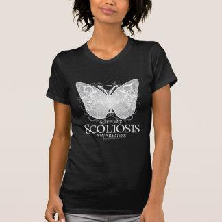 Camiseta Borboleta da escoliose