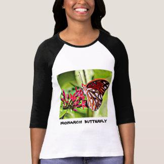 Camiseta Borboleta de monarca de Vermont