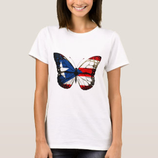 Camiseta Borboleta de Puerto Rico