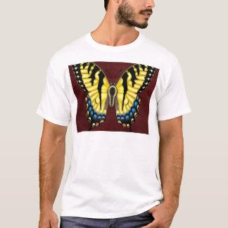Camiseta Borboleta de Swallowtail do tigre