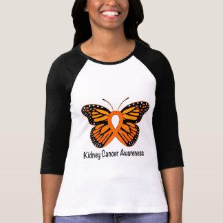 Camiseta Borboleta do câncer de rim da esperança