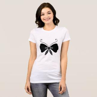 Camiseta Borboleta preta