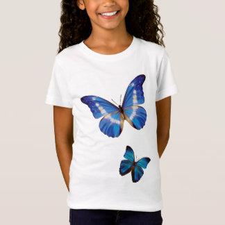 Camiseta Borboletas azuis de Morpho