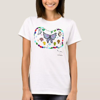 Camiseta Borboletas da mistura