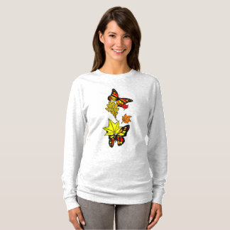 Camiseta Borboletas da queda