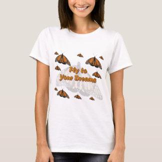 Camiseta Borboletas de monarca