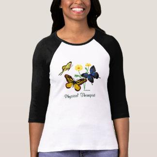 Camiseta Borboletas do fisioterapeuta
