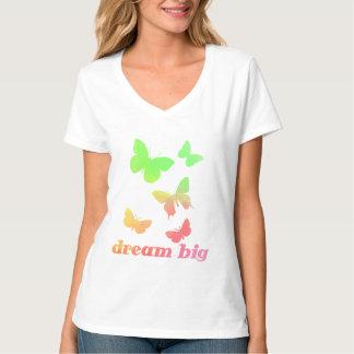 Camiseta Borboletas inspiradas grandes ideais bonitos