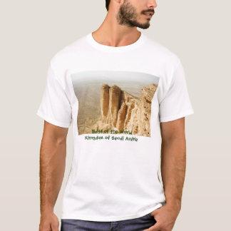 Camiseta Borda do mundo, reino de Arábia Saudita