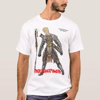 Camiseta Borda Sharpsword na armadura do demónio