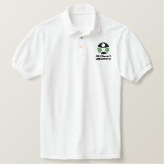 Pólo bordado logotipo da quiroterapia