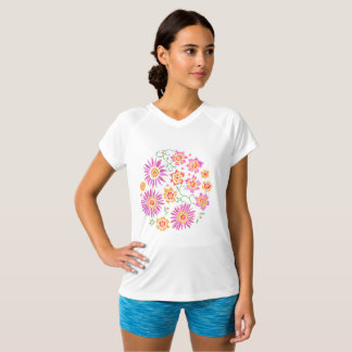 Camiseta Bordado floral