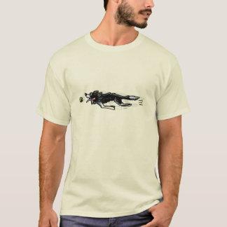 Camiseta Border collie na ação