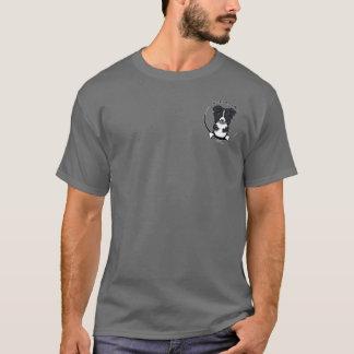 Camiseta Border collie seu toda aproximadamente mim