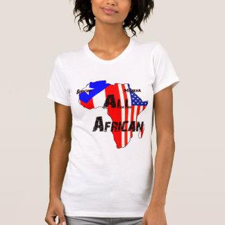 Camiseta Boricua, Morena, todo o africano - Tshirt