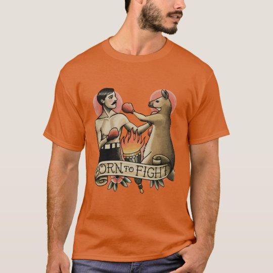 Camiseta Born to Fight