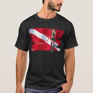 Camiseta Borrachos quentes do mergulho no biquini