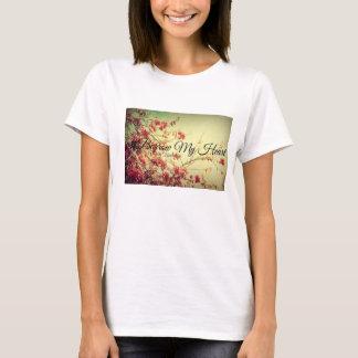 Camiseta #Borrow meu coração