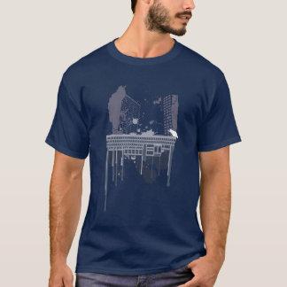 Camiseta Boston brutal (versão azul)