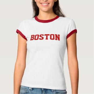 Camiseta Boston (campainha vermelha)