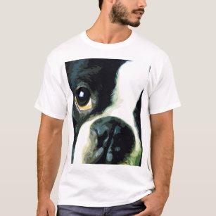 Camiseta Boston grande moderna Terrier