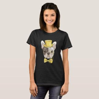 Camiseta Boston padrão dourada Terrier