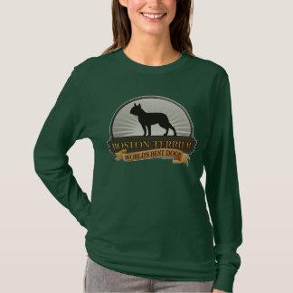 Camiseta Boston Terrier