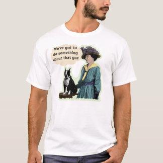 Camiseta Boston velha Terrier
