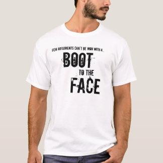 Camiseta Bota à cara