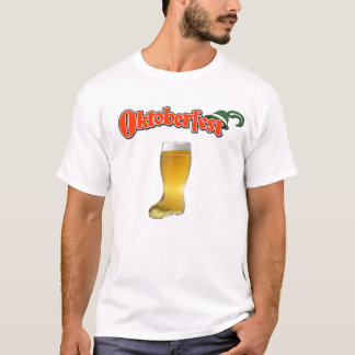 Camiseta Bota da cerveja de OKTOBERFEST