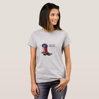 Camiseta Bota de vaqueiro de Dallas Texas