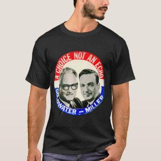 Camiseta Botão retro da eleição de Goldwater Miller do