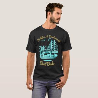 Camiseta Botões dos melhores amigos de Nova Escócia Halifax