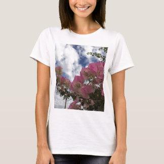 Camiseta Bougainvillea cor-de-rosa