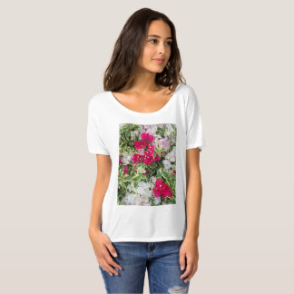 Camiseta Bougainvillea Variegated