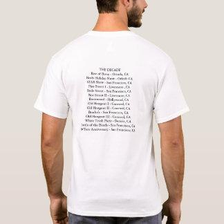 Camiseta Bovis T de um aniversário de 10 anos