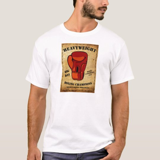 Camiseta Boxe HEAVYWEIGHT