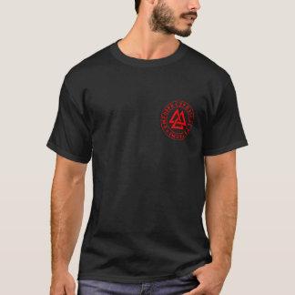 Camiseta braços, lâminas e donzelas