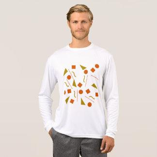 Camiseta Braething/luva longa do concorrente Esporte-Tek