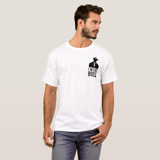 Camiseta Branca I'm The Boss