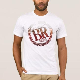 Camiseta Branco de Royale da batalha