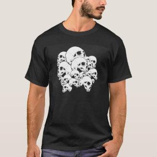 Camiseta branco do skullz