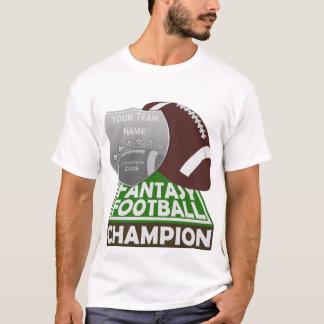 Camiseta Branco do t-shirt do campeão do futebol da